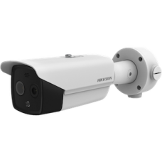 Hikvision AI Thermographic Bullet Body Human Temperature Measurement Thermal Camera 384 × 288 high resolution