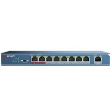 Hikvision DS-3E0109P-E 8-Port 100 Mbps Unmanaged Economical PoE Switch