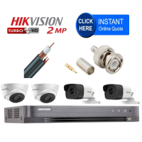 Build your own Pro HD CCTV Kit - RG59 Cable and BNC Connections - We can install for you