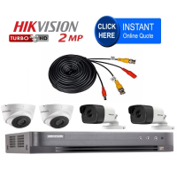 Build your own HD CCTV DIY Kit - Pre made cables - No special CCTV tools required - Easy install