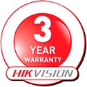 PMBCCTV carries 3 year warranty